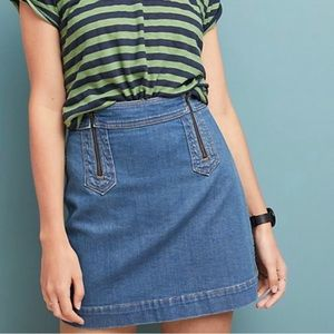 Anthro: Pilcro and Letterpress | Denim Skirt 8